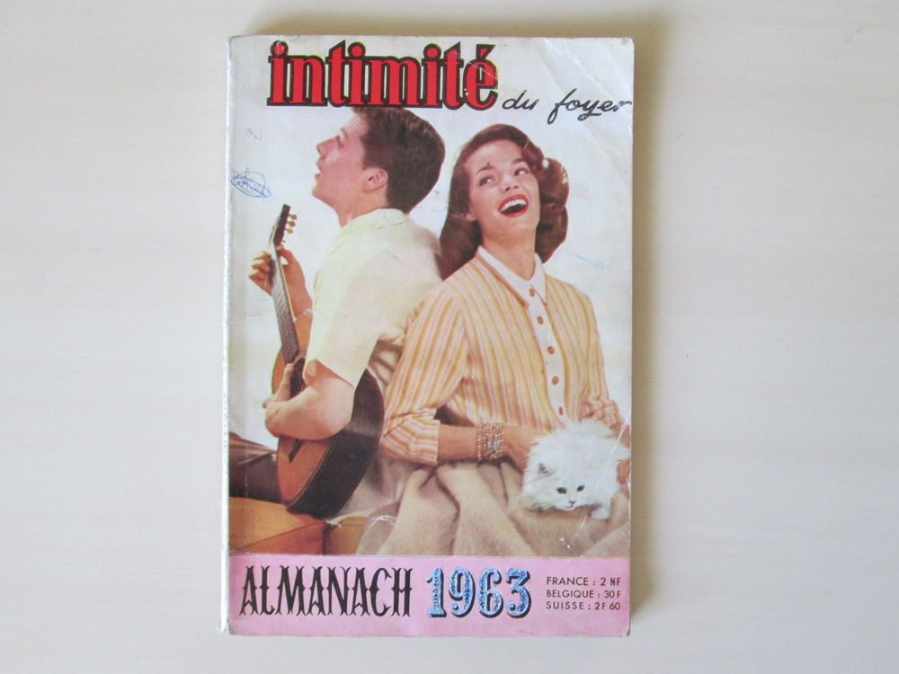 Almanach Intimité du foyer 1963 9 Béthencourt-sur-Mer (80)