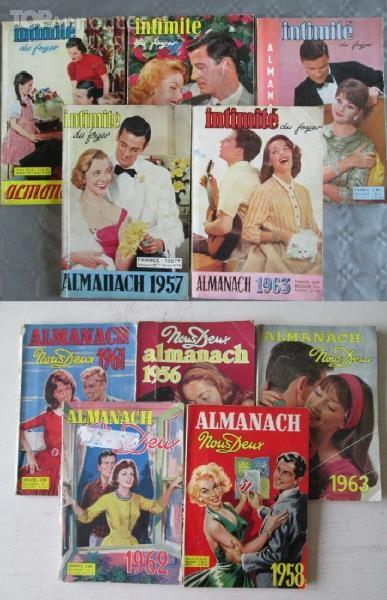 Almanachs Des Années 50 Et 60 Livres et BD