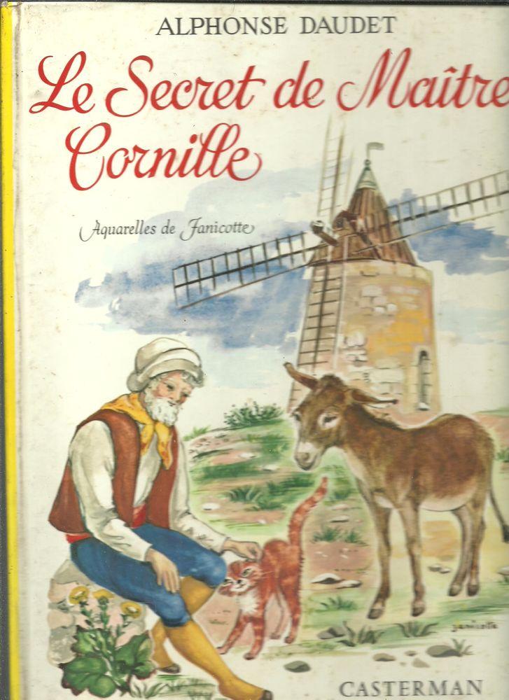 Alphonse DAUDET Le secret de Maître CORNILLE Livres et BD