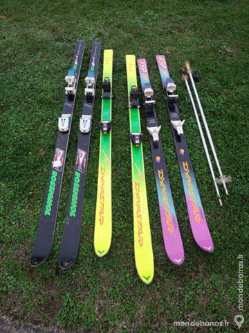 lot de ski alpins 30 Jezainville (54)