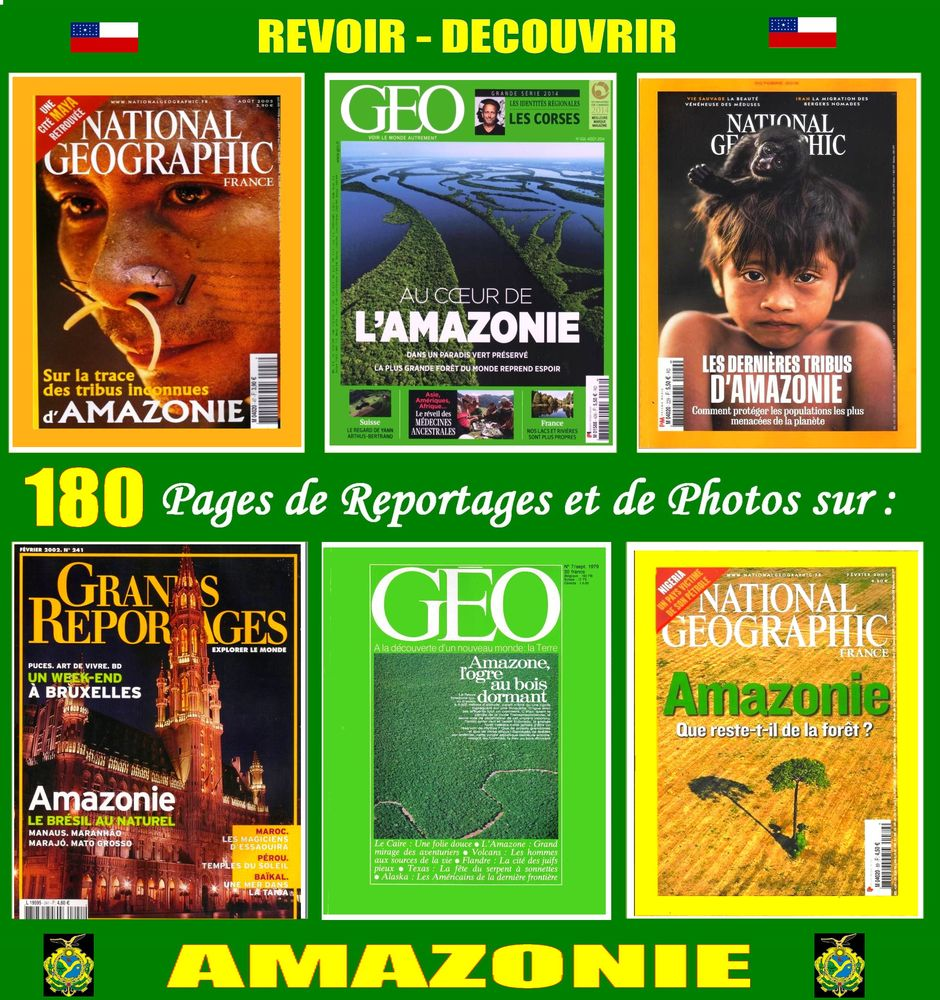 AMAZONIE - Amazone - AMERIQUE DU SUD 18 Bordeaux (33)