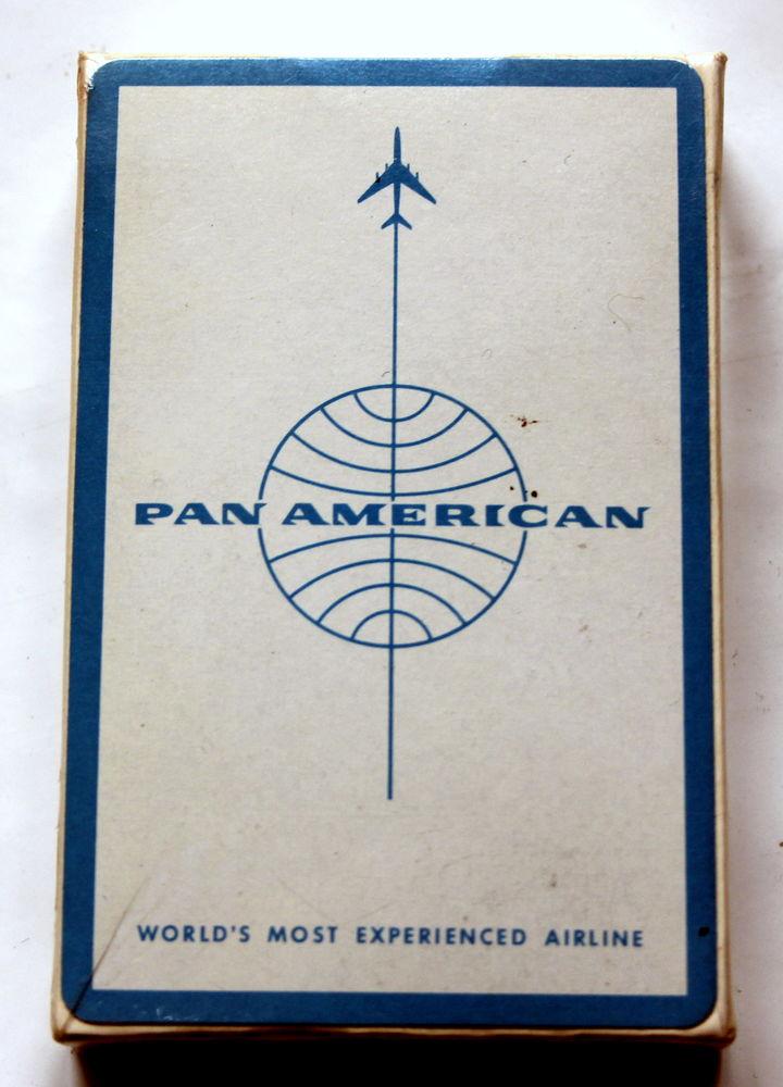 PAN AMERICAN VINTAGE jeu de cartes publicitaire 10 Issy-les-Moulineaux (92)
