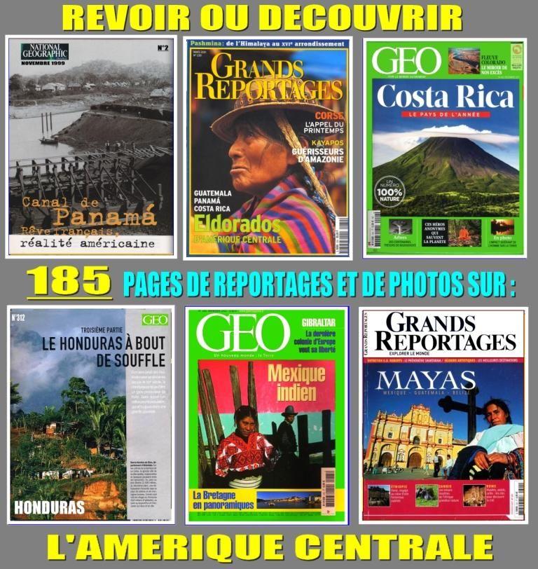 AMÉRIQUE CENTRALE - géo - AMÉRIQUE DU SUD 18 Lille (59)
