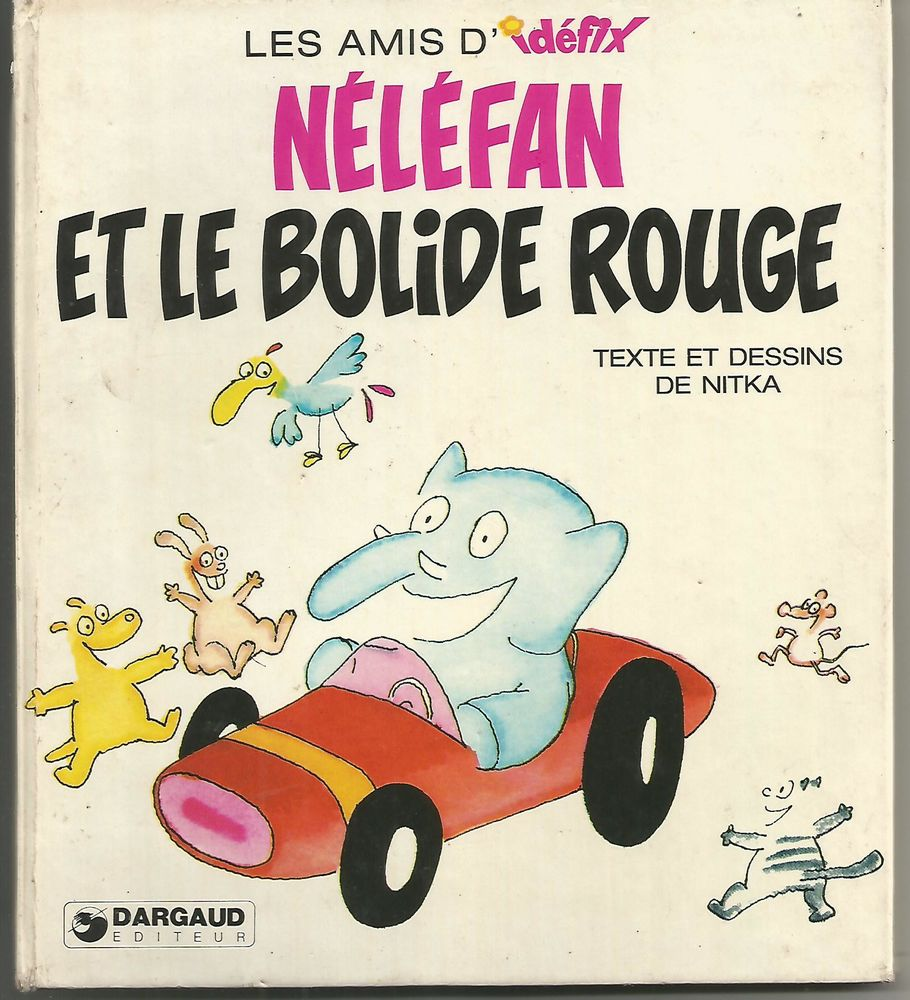 Les amis d'IDEFIX / NELEFAN et le bolide rouge 9 Montauban (82)