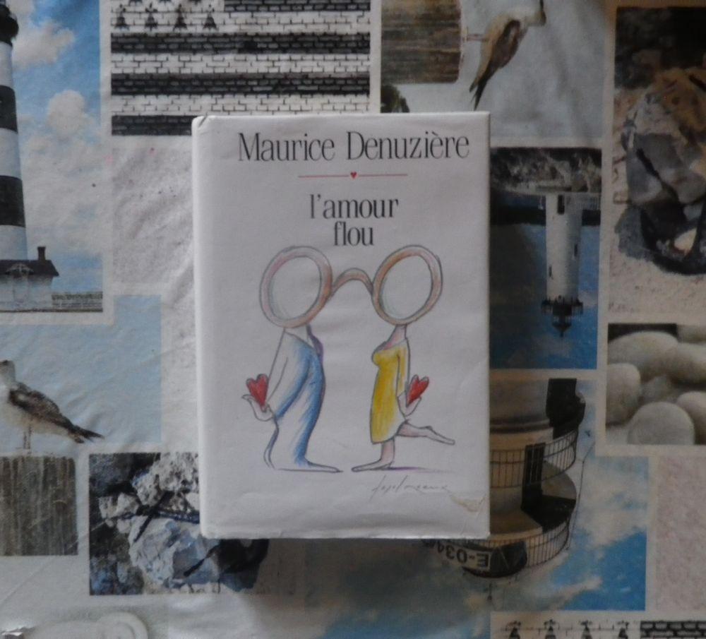 L'AMOUR FLOU de Maurice DENUZIERE Ed. France Loisirs 3 Bubry (56)