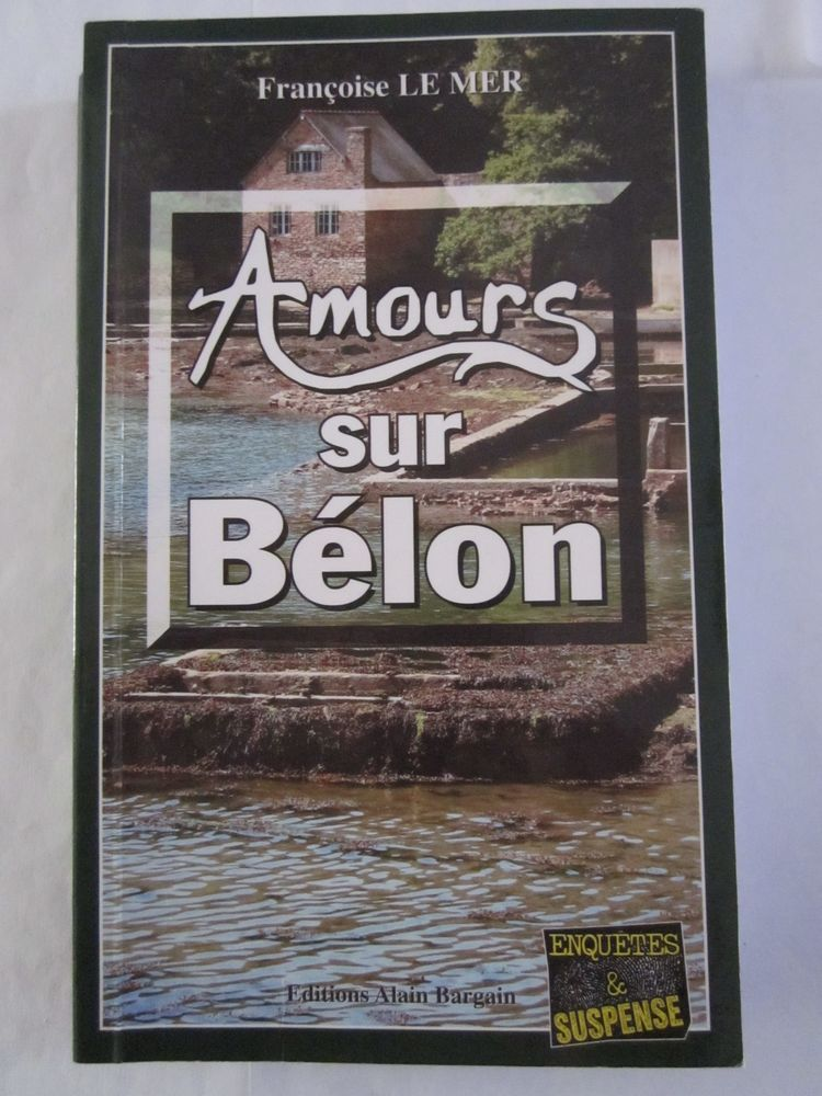 AMOURS SUR BELON  policier  BRETON BARGAIN 3 Brest (29)