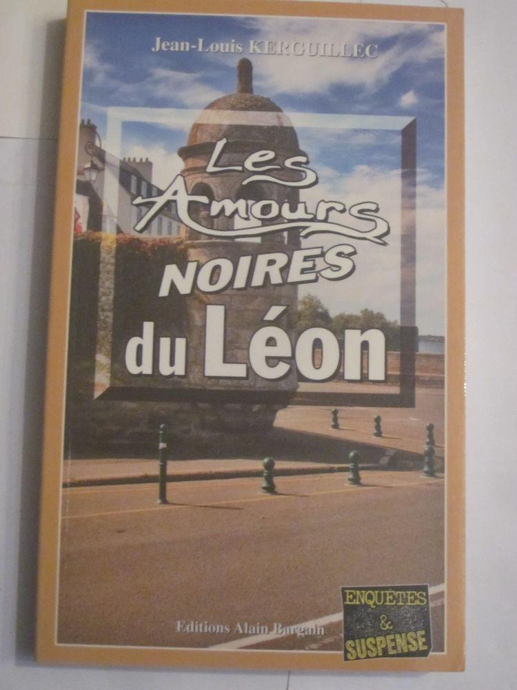 LES AMOURS NOIRES DU LEON  policier  BARGAIN 3 Brest (29)