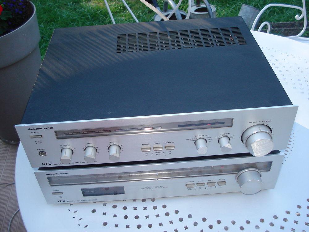 ampli NEC AUA 7300E + tuner NEC AUT 8300E vintage 180 Fontenay-le-Fleury (78)
