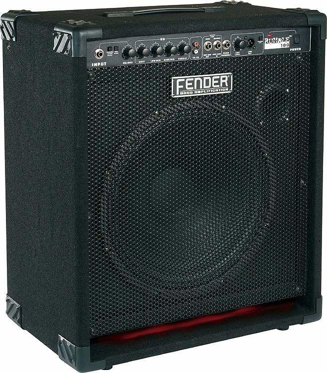 AMPLI BASSE FENDER RUMBLE 100 / 250 EUROS Audio et hifi