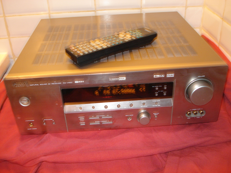 Ampli Home cinéma Yamaha RX-V450 titane Audio et hifi