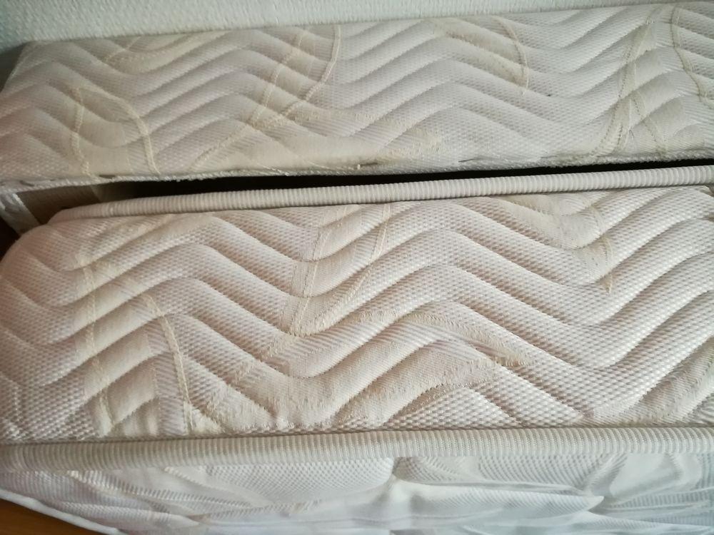 LIT AMPM  bois blanc 135 cm. 190 Versailles (78)