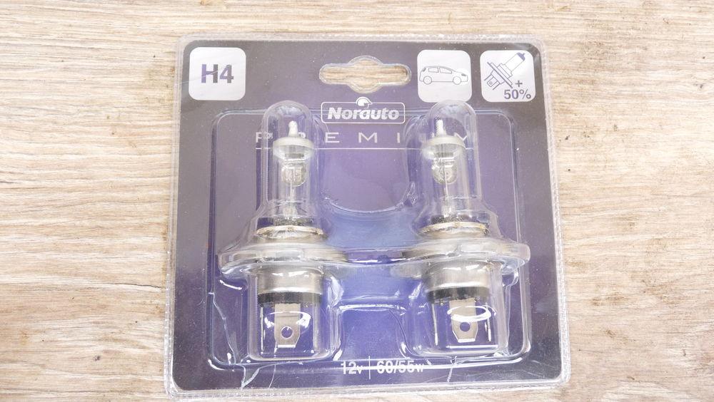 2 ampoules H 4 12 V/ 60/55 A 15 Jonquières (84)