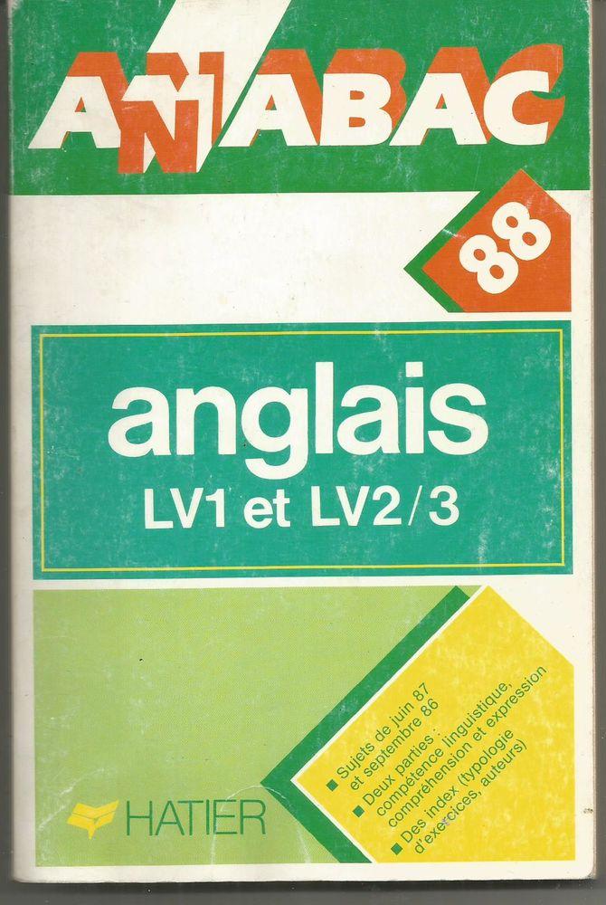 ANABAC 88 Anglais LV1 et LV2 / 3 Livres et BD