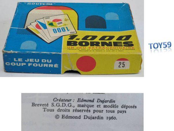 Ancien jeu: 1000 BORNES de 1960 20 Mons-en-Barœul (59)