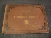 Ancien Album de Timbres Poste (Vide) Arthur Maury 1920 20 Loches (37)