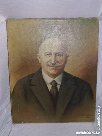 Ancien et authentique tableau peinture à l'huile 120 Dunkerque (59)