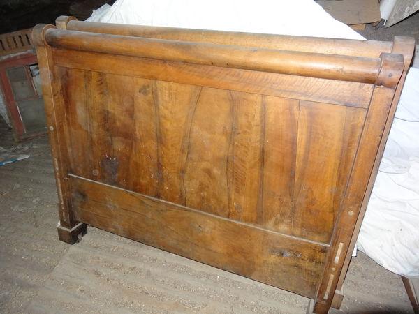 achetez lit ancien bois occasion annonce vente ch teau landon 77 wb152567303. Black Bedroom Furniture Sets. Home Design Ideas