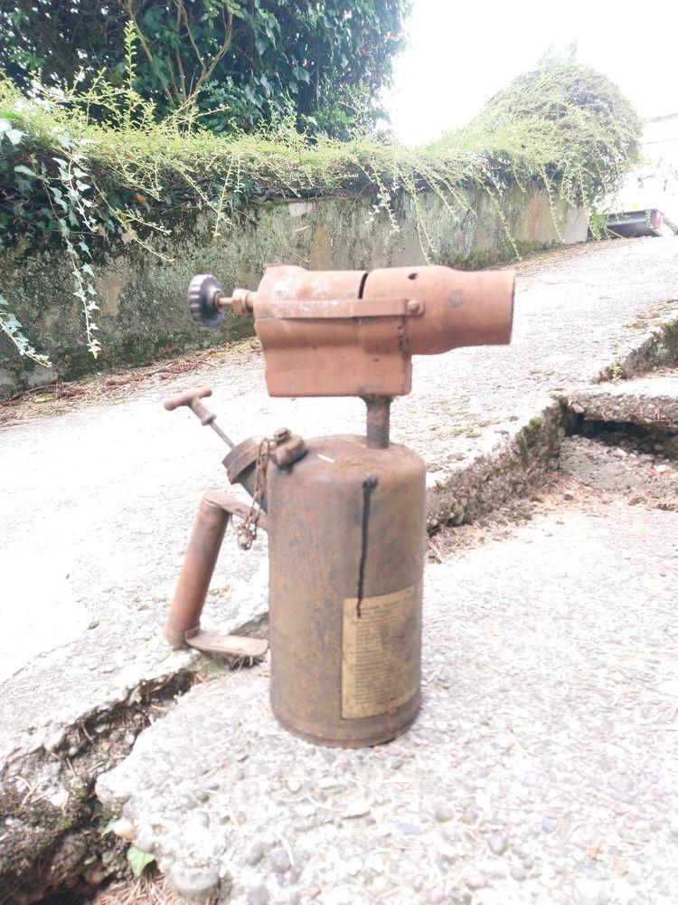 Ancien brûleur-chalumeau à pétrole  5 Wissembourg (67)