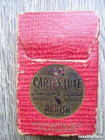 ANCIEN JEU DE 54 CARTES /HERON , TOILINE 9 Lons-le-Saunier (39)