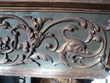 Ancien Corniche Fronton Bois Sculpté Style Renaissance Meubles