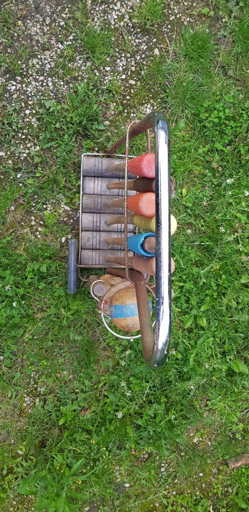 Ancien jeu de croquet/criquet complet en bois 0 Versailles (78)
