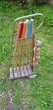 Ancien jeu de croquet/criquet complet en bois Jeux / jouets