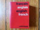 Ancien dictionnaire français-anglais  6 Strasbourg (67)
