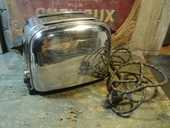 Ancien Grille Pain Toaster Chrome Vintage 1950 30 Loches (37)