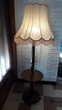 Ancien lampadaire bois massif. Décoration