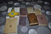 Ancien livre catholique avec ses cantiques 80 Perreuil (71)