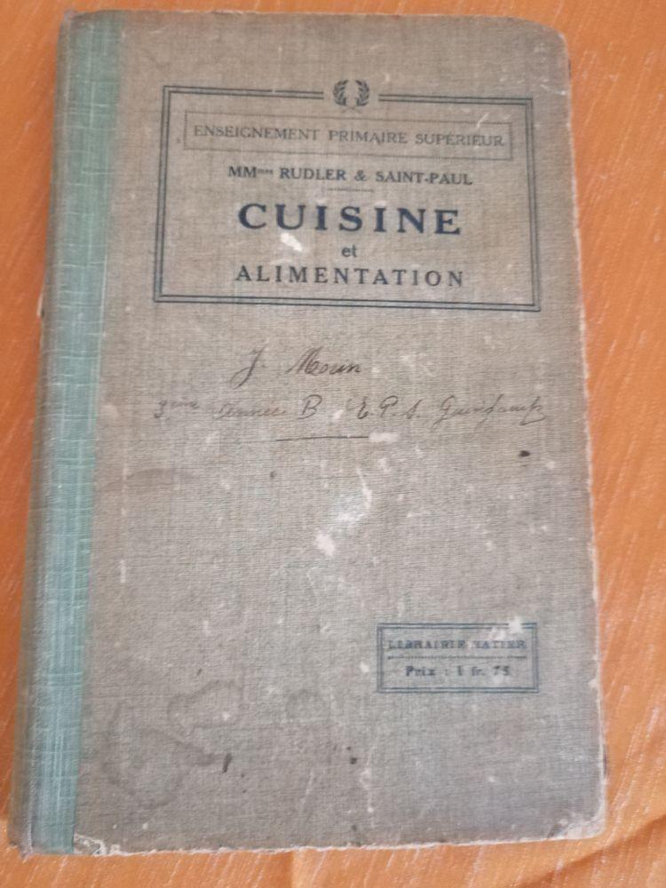 Ancien livre de cuisine de 1916 ! 0 Maisons-Laffitte (78)