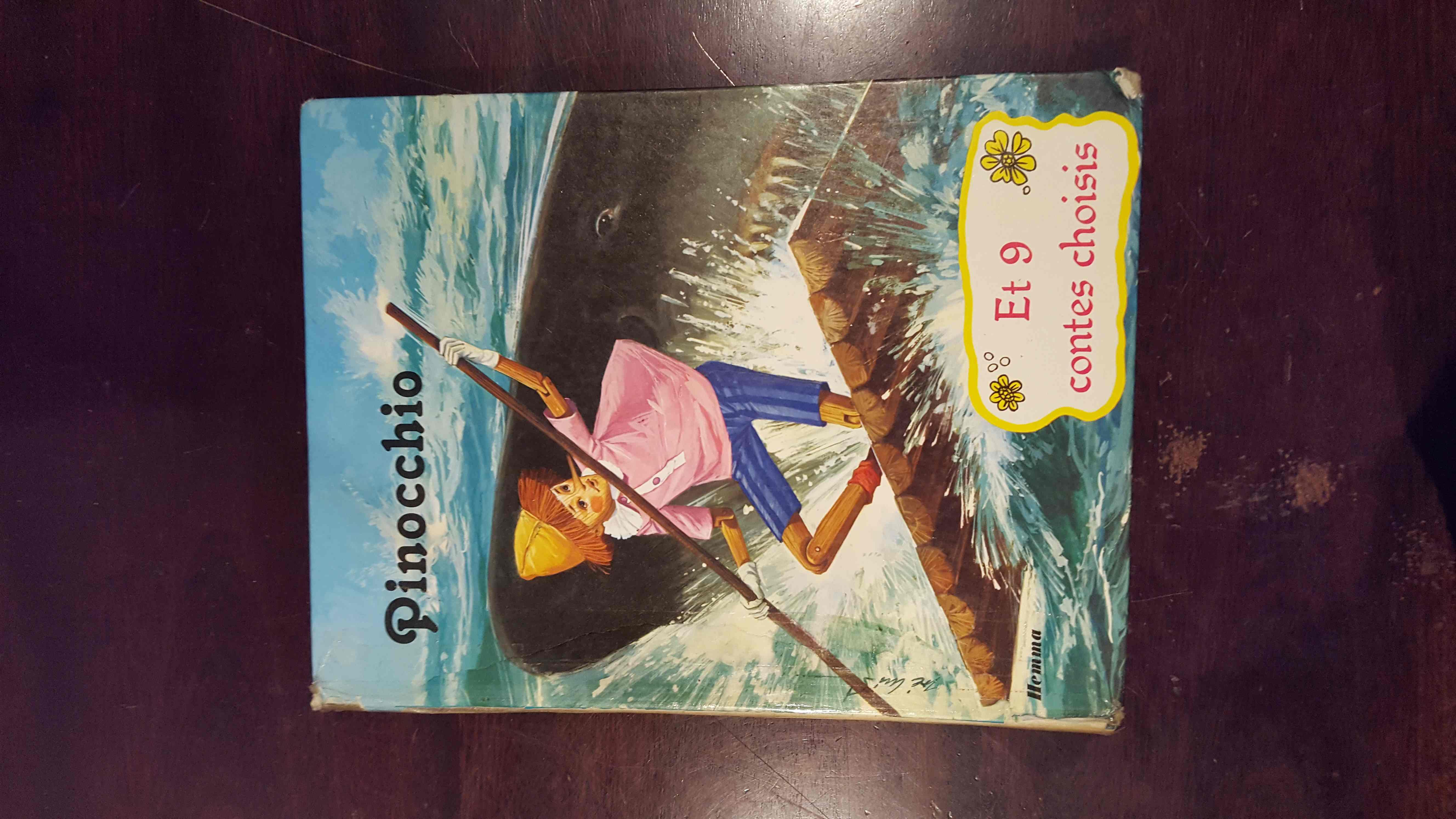 ancien livre Pinocchio et 9 contes à choisir 12 Sens (89)