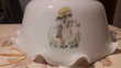 Ancien lustre abat-jour opaline. Occasion Décoration