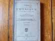 Ancien manuel scolaire de physique 1886