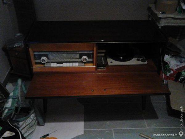 Achetez ancien meuble radio occasion annonce vente for Meuble pour tourne disque