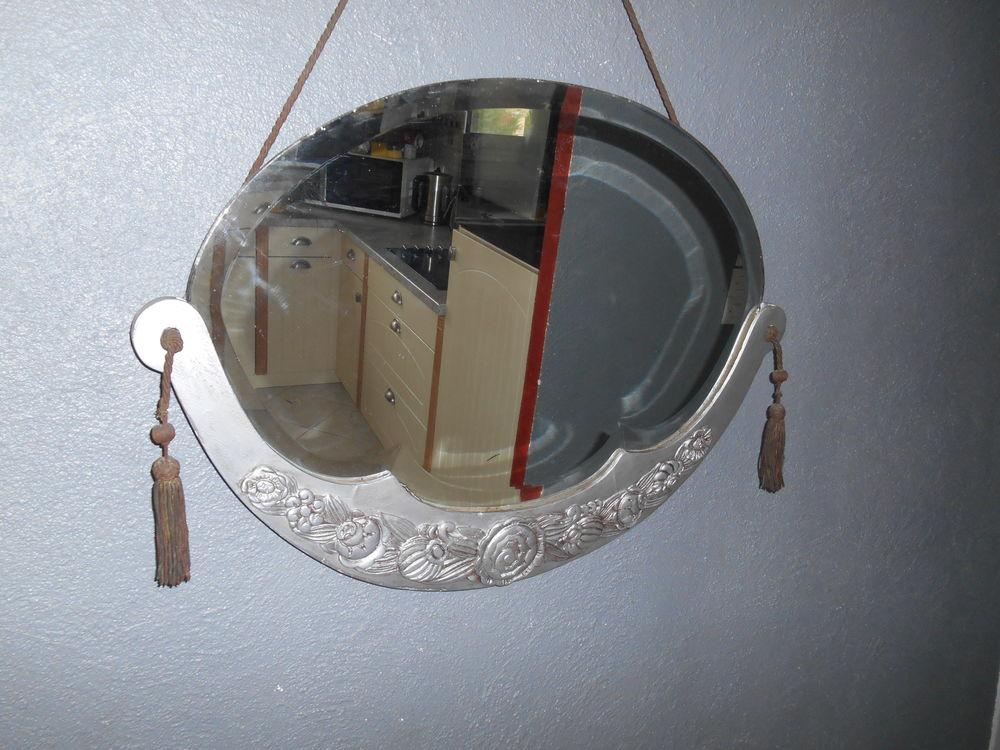 ANCIEN Miroir art déco 100 Paris 19 (75)
