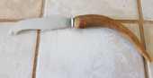 Ancien Petit Couteau à Beurre avec manche en corne pour Peti 2 Marseille 9 (13)
