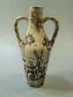Ancien Petit Vase Céramique Décor Cerf et Biche vers 1960 Loches (37)