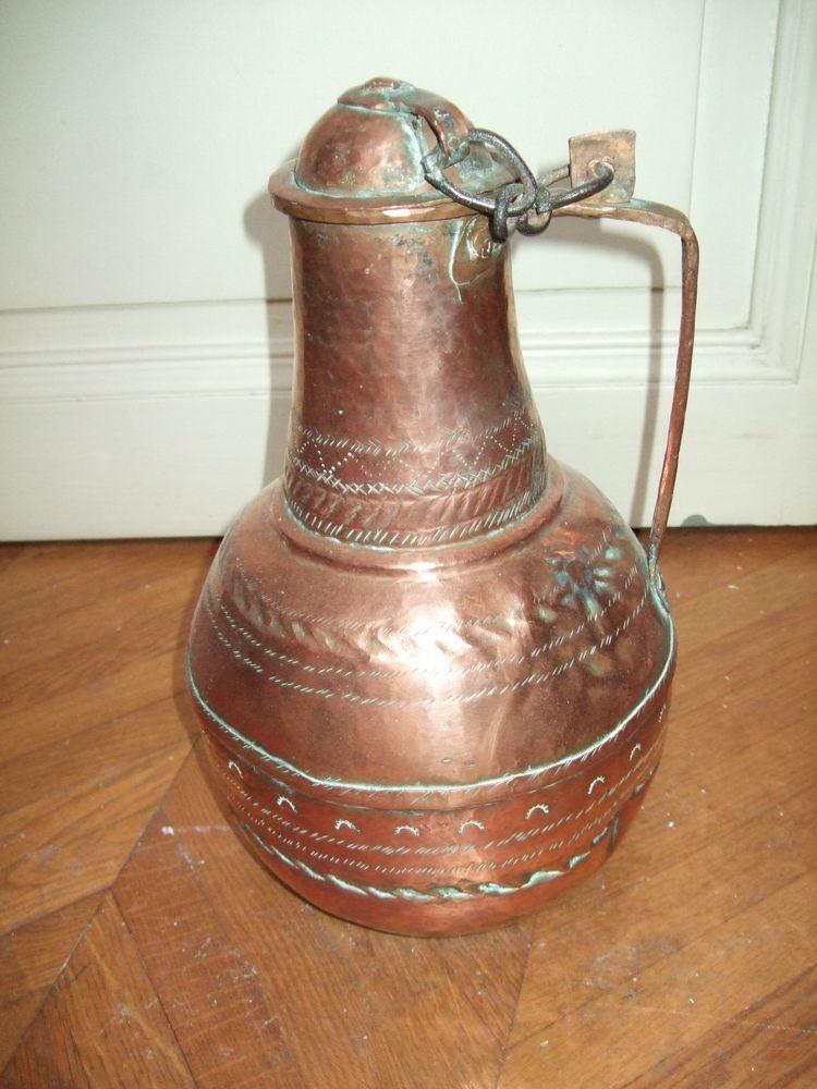 Ancien pichet en cuivre 45 Montpellier (34)
