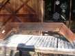 Ancien Poutre en bois pour bandeau de cheminée ou barbecue Bricolage