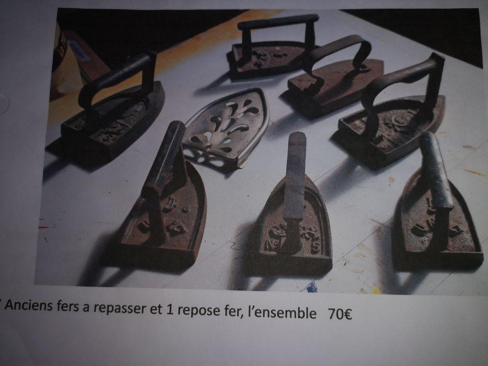 Ancien fer à repasser 70 Lagny-sur-Marne (77)