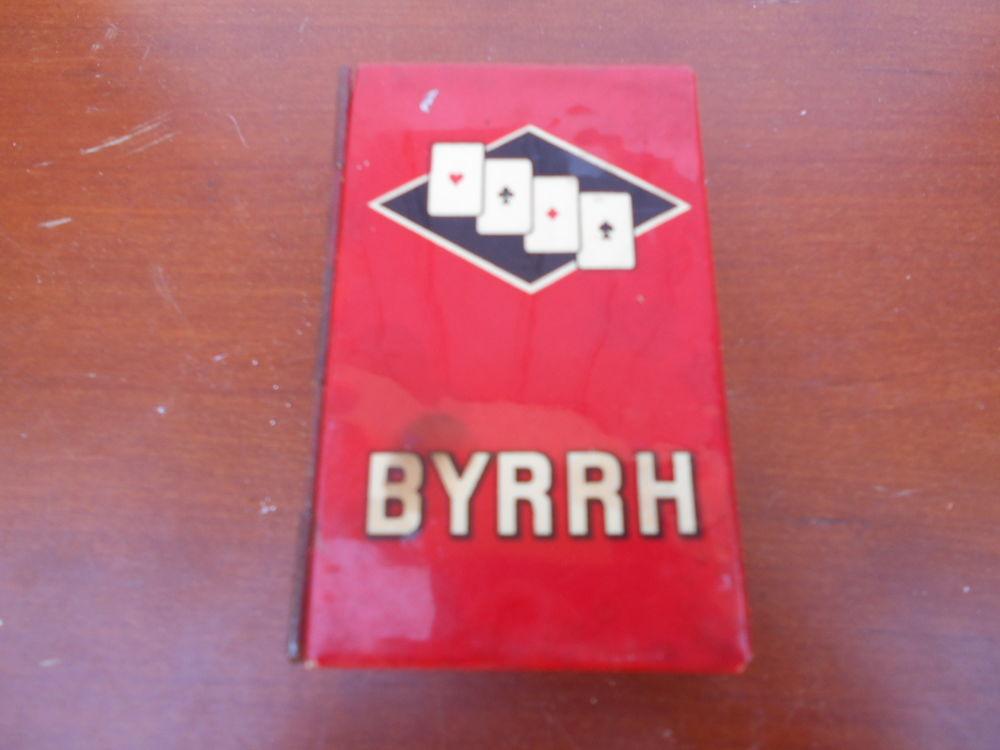 """ANCIENNE BOITE métallique """" Byrrh """""""