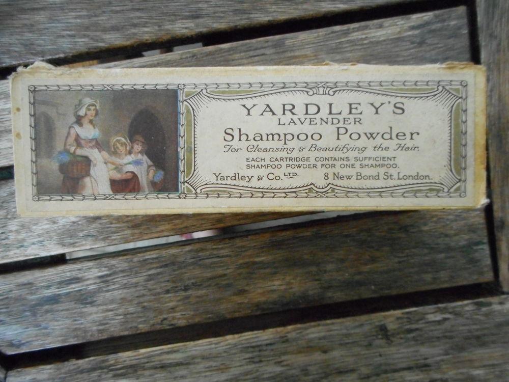 Ancienne boite vide en carton Yardley 5 Nieuil-l'Espoir (86)