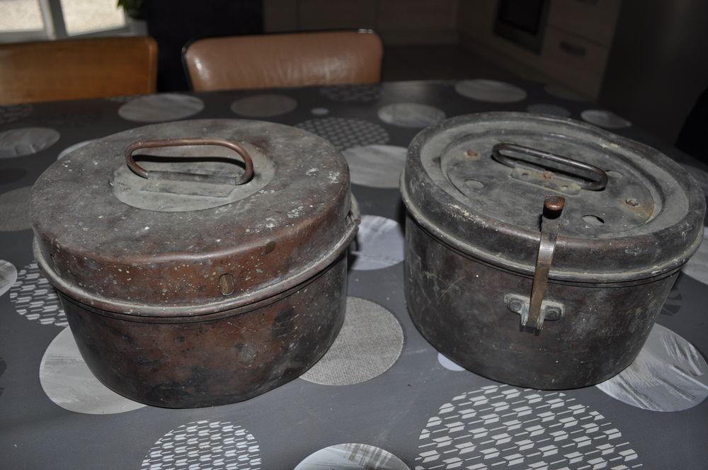 Ancienne cantine, gamelles mineurs