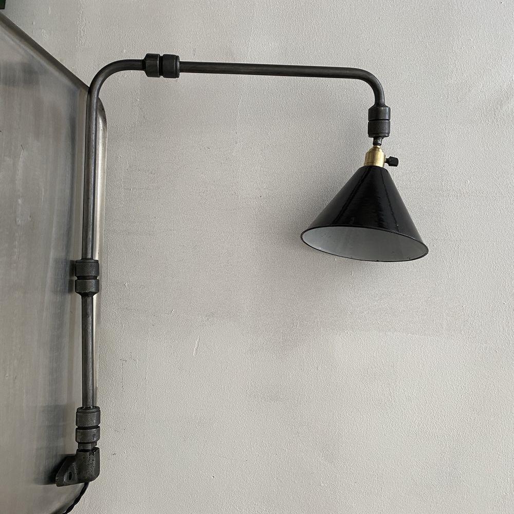 ANCIENNE LAMPE APPLIQUE INDUSTRIELLE 3 BRAS  350 Paris 2 (75)