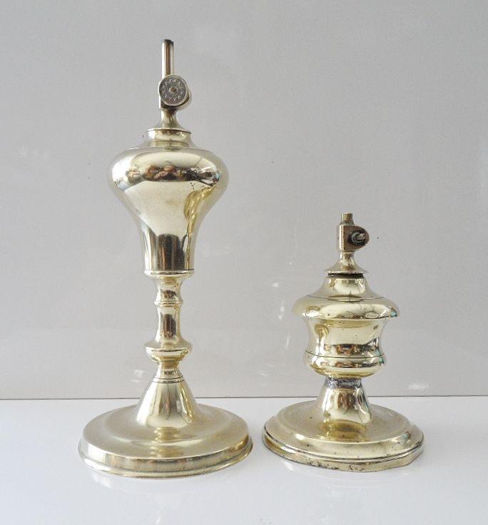 ANCIENNE LAMPE BRIQUET ESSENCE/PETROLE BRONZE 19ème