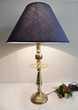 ANCIENNE LAMPE BUREAU CHANDELIER ARTDECO LAITON MAURE tbe Décoration