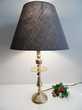 ANCIENNE LAMPE BUREAU CHANDELIER LAITON VINTAGE MAURE tbe Décoration