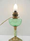 ANCIENNE LAMPE PETROLE A&P GAUDARD ELECTRISEE EN 220V tbe 69 Marseille 11 (13)
