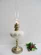 ANCIENNE LAMPE A PETROLE BRONZE PORCELAINE ART DECO retro Marseille 11 (13)